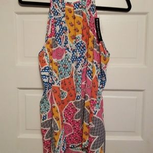 NWT Brightly colored tank